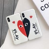 apfel geformte geschenke großhandel-Einteilige TPU Telefonkastenart und weise für iPhone 6S 7 8 P X XS Liebesform Entwerfer-Telefonrückseitenabdeckung für Geschenke