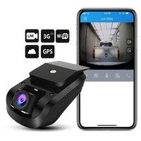 enregistreur 3g achat en gros de-Nouvellement 3G 1080P Smart GPS Suivi Dash Camera Car Dvr Enregistreur vidéo en direct Surveillance par PC Free Mobile APP (Vente au détail)