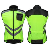 Wholesale motorcycle safety vest reflective resale online - New Reflective Riding Vast Night Outdoor Sport Accessories Riding Safety Clothing Windproof Cycling Vest Motorcycle Vest Suit