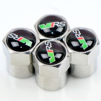 Wholesale opel accessories for sale - Group buy New style Metal Wheel Tire Valve Caps Stem case for Renault seat opel lada great wall byd skoda vrs car accessories