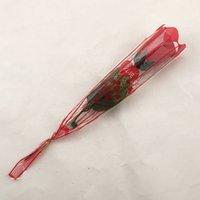 regalo de vacaciones de san valentín al por mayor-Flor artificial Conservado Rosa Día de San Valentín Decoración del hogar Fiesta de aniversario Luz LED Cumpleaños Propuesta de vacaciones Regalo de boda