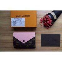 ingrosso cintura di moneta rosa-M60492 Women Canvas Piegare piccola moneta borsa del portafoglio borsa rosa borsa del portafoglio Borse Belt Mini Borse Frizioni Esotici