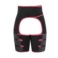 Yoga Thigh Shaper for Women High-Waist Sport Waist Trainer Thigh BuLifting Leg Fitness Exercise Gym equipment Yoga Sports