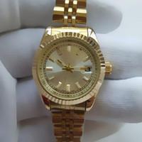 ingrosso nuove signore di stile catena orologi-26MM New Fashion Style Women Watch Full Diamond Lady Steel Chain orologio da polso al quarzo di lusso Orologio da designer di moda per il tempo libero di alta qualità