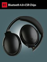 Wholesale microphone rechargeable resale online - Bluetooth Headphones noise cancelling Wireless Headphones Built in microphone Rechargeable Good quality ANC Headphones Headsets pk QC35