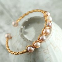 Wholesale fresh pearls set resale online - Natural Fresh Water Pearl Bracelets For Women Wedding Gifts Adjustable Bracelets Fine Jewelry