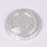 Wholesale empty blister packaging for sale - Group buy Disposable Empty Clear Round D False Eyelashes Storage Case Eye Makeup Tool Transparent DIY Elegant Fake Eyelashes Blister Package