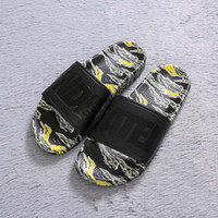 428b2dd3c00 Wholesale flip flops online - Undefeated Designer Flip Flops Slippers Black  Tiger Strip Casual Shoes Men