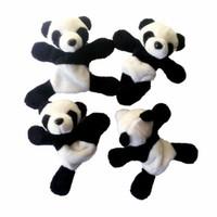 девушка панда мягкая игрушка оптовых-1 Шт. Милый Мягкий Плюшевый Панда Магнит На Холодильник Стикер Подарок Сувенирный Декор Смешные Девочки МальчикиДети Студенческие Игрушки #O