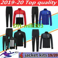 birleşik ceketler toptan satış-2019 2020 manchester ceket eşofman Survetement 19 20 Pogba RASHFORD Lukaku futbol antrenman takım elbise ceket UNITED Koşu chándal futbol