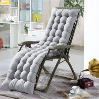 cadeira reclinável venda por atacado-100% Lounge Chair poliéster almofada confortável plataforma macia Chaise Padding pátio ao ar livre Piscina reclinável Almofadas almofada do assento