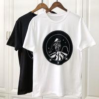 Wholesale summer man cool t shirt for sale - 19ss Spring Summer Luxury Europe Paris Galaxy Astronaut T shirt Fashion Men Women Clothing Cool Skateboard T Shirt Casual Tee