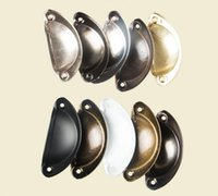 Wholesale drawer knobs for sale - Group buy Vintage Cabinet Knobs and Handles Cupboard Door Cabinet Drawer Furniture Antique Shell Home Handles Pulls Style YYSY304