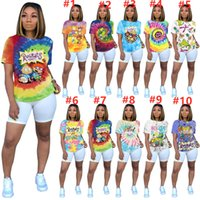 Wholesale sale hockey shirts resale online - Plus size XL Summer WOMEN brand Rugrats T shirtS casual print designer Tees top tie dye short sleeve T hot sale trendy print Tshirts
