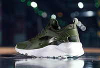 leichte tarnung großhandel-Männer / Frauen Laufschuhe HUARACHE air Camouflage Sneakers Größe Leichte Outdoor Jogging Fitness Mesh männlichen Sportschuhe
