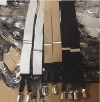 ingrosso donne di bretelle nere-Nuovo marchio classico 2019 C C Bretella elastica Donna cinturino di alta qualità nero bianco 3 colori bretella regalo di nozze