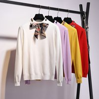 Wholesale wool jersey mujer resale online - BOBOKATEER Sweater Women Fashion Winter Red Yellow Knitted Women Sweater And Pullover Female Jersey Mujer Jumper Pull Femme Y200116