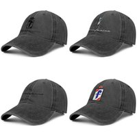 Wholesale man wash car resale online - Pininfarina car logo Men womens custom vintage Denim Adjustable wash Flat caps Popular cap