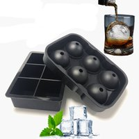 Wholesale brick made for sale - Group buy Whiskey Ice Cube Mold Round Ball Make Mould Summer Ice Cream Mould Bar Drinking Wine Tray Ice Brick Round Bar Accessories BH3176 TQQ
