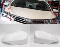 puertas de toyota corolla al por mayor-Cubierta del espejo de la puerta para Toyota Corolla 2014 2015 2016 2017 accesorios retrovisor tapa trasera vista 87945-02930 87915-02930