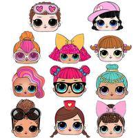 mascarillas de animales para niños al por mayor-INS Surprise Girls Masks Kids Fun Dress Party Costume Outfit Mascarilla Masquerade Halloween Headgears Cosplay Ball Masks Accesorio B73002