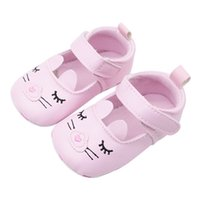Wholesale blinking shoes for sale - Group buy Blinking Cartoon Print Princess Shoes Baby Shoes Baby Toddler Girls Moccasins