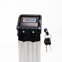 baterias de íon de lítio livres venda por atacado-Recarregável 36 V 18AH bateria Da Bicicleta Elétrica 36 V 700 W bateria de Lítio-ion EBike com selado caso 20A BMS 42 V 2A carregador Frete grátis