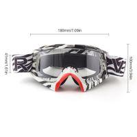 Wholesale clear lens ski goggles resale online - Unisex Ski Goggles Snowboard Mask Motocross Glasses Windproof Outdoor Protection Sport Skating Glasses Clear Lens