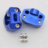 adaptador para elevador al por mayor-El manillar Risers la abrazadera del adaptador de la forma cónica para la grasa 1 1/8 pulgadas 28mm manillar de la motocicleta campo a través de la abrazadera Accesorios