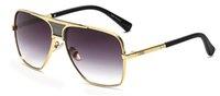 mercekler d toptan satış-2018 Klasik Marka Desinger D Kare Polarize lens Güneş bayan / erkek Ayna UV400 Güneş Gözlükleri gafas lentes de sol mujer