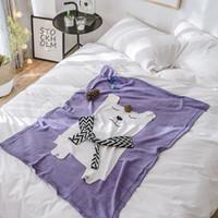 Wholesale korean quilt for sale - Group buy 110 cm Baby Blanket Toddler Bedding Knitted Baby Wrap Soft Blankets Newborn Swaddling Kids Gift Girls Blankets Bath Quilt
