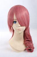 Wholesale anime girl cosplay long hair for sale - Group buy Cosplay Wigs Final Fantasy Serah Farron Long Pink Anime Hair Girl fashion Wigs