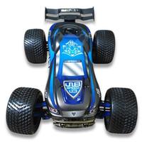 приводные шины оптовых-JLB Racing J3SPEED 1:10 RC внедорожное Truggy Metal шасси с большим отверстием Амортизатор Внедорожный шиномонтаж Бигфут RC Car
