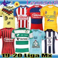 jersey tigres uanl al por mayor-LIGA MX 2019 2020 Club America Camisetas de fútbol Xolos Tijuan UNAM Guadalajara Chivas 19 20 Monterrey Tigres UANL Santos Laguna Camiseta de fútbol