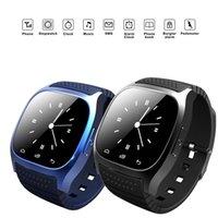 cradle entwürfe großhandel-M26 Bluetooth Smart Uhr mit SIM-Kartensteckplatz NFC Health Watchs für Android Samsung und IOS Apple iPhone Smartphone Cradle Design