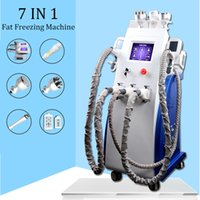Wholesale slimmer beauty massager for sale - Group buy Fat freezing machine K cavitation lipo laser rf vacuum slimming machine ultrasonic beauty massager therapy weight loss