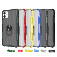 Wholesale one armor for sale – best TWO IN ONE Hybrid Armor PC TPU Ring Kickstand Back Case For iPhone Pro Max XR XS Max s Plus