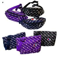 la bolsa de asas del hombro del bolso de los niños al por mayor-Champion Brand Designer Crossbody Shoulder Bag Women Men Junior Kids Riñonera Luxury Fanny Packs Bumbags Sports Travel Tote Handbag C81404