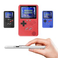 Wholesale portable game machine resale online - Ultra thin cm SUP Handheld Game Console Mini Games Machine Classic Games inch Pocket Retro Video Portable Game Players Best Gift