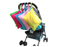 Wholesale supply baby clothes resale online - New High quality Baby Dirty Clothes storage bag Oxford waterproof diaper bag necessary Travel supplies DA305
