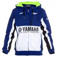 ingrosso magliette felpate da moto-hoodie moto da corsa di motocross in sella a Yamaha felpa abbigliamento uomini giacca moto Giacche incrociati felpe in jersey con zip antivento
