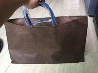 ingrosso 55 borsa-Più nuovo progettista Madre pacchetto ad alta capacità di Totes Shopping Bag borsa marca famosa Pu 2pcs pelle / set 46 centimetri e 55 centimetri