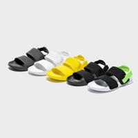 yeni moda sandaletler toptan satış-Yeni Leadcat YLM Lite Moda Erkekler ve Kadınlar için Düz Sandalet ve Terlik Yeşil Üçlü Siyah Beyaz Sarı Açık Ayakkabı Boyutu 36-44