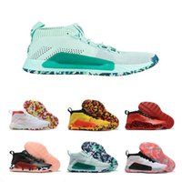 Wholesale mid skate for sale - Group buy Hot Sale Lillard Dame CNY All Skate Yellow Green backetball shoes Cheap High quality Sports Sneakers Damian s Mens Trainers Size7