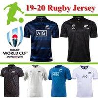 jérsei de rugby da argentina venda por atacado-2019 Rugby World Cup Jerseys Fiji Tonga Samoa Geórgia Scotland Austrália País de Gales Itália Francês Japão Argentina 19 Home Away shirt Tamanho S-3XL