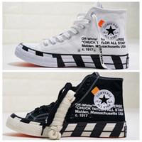 unisex beyaz tuval ayakkabıları toptan satış-2019 chuck 70 Merhaba Beyaz Siyah 1970 s Mens Bir chuck 70 s Paten Tasarımcı Bayan Sneakers Eğitmenler Için Rahat Kanvas Ayakkabılar Shoes