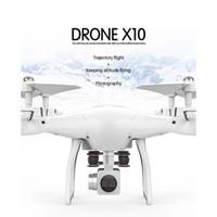 kamera indirimli gemi toptan satış-LeadingStar X10 RC Drone 2.4Ghz Quadcopter Kamera WIFI FPV Başsız Modu Yükseklik tutun Drop Shipping VS X5 SW-1 zk30