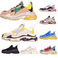 Wholesale designer shoes for ladies resale online - With Box Fashion Paris Triple S Designer Sneakers For Men Women Casual Sports Shoes Ladies Luxury Utility Trainers Sports Shoes