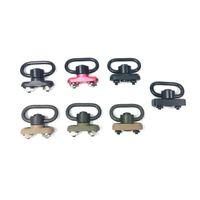 Wholesale tactical gear sling resale online - M LOK Keymod Standard QD Sling Swivel Adapter Rail Mount Kit QD Swivel Included Tactical gear hunting accessories