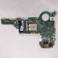 lga 755 ddr3 al por mayor-La alta calidad de 14-EE-15 E 17 E-720691-501 720691-001 madre del ordenador portátil DA0R75MB6C1 DA0R75MB6C0 DDR3 de trabajo de pruebas completas 100%